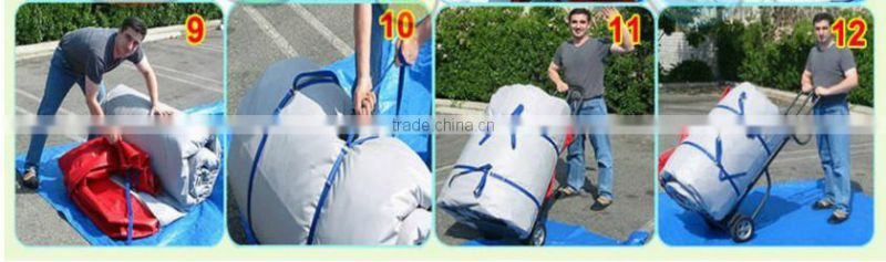 outdoor inflatable snowwhite pvc water slide for sale 6x5m inflatable 0.55mm pvc water slide cheap inflatable water slide