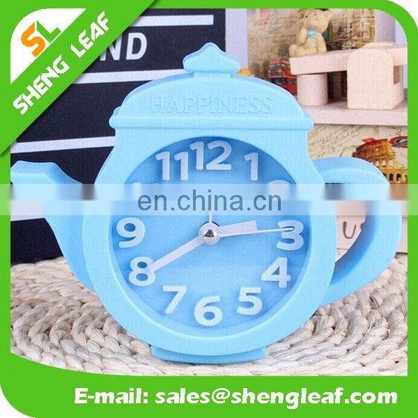 The lovely cartoon clock children small alarm clock Creative gift table clock