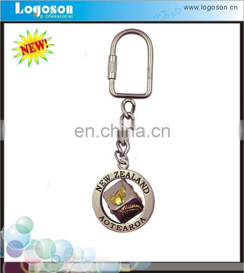 Promotion cheap metal new zealand metal keychain