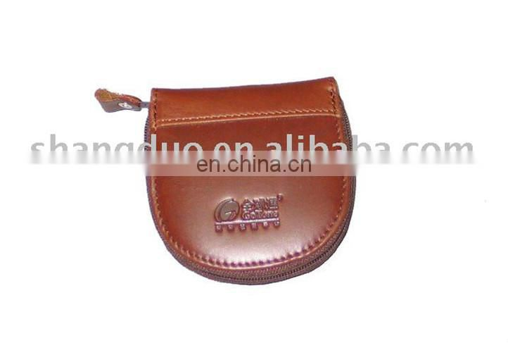 New Special Design Small Size Leather Coin Purse With Zipper