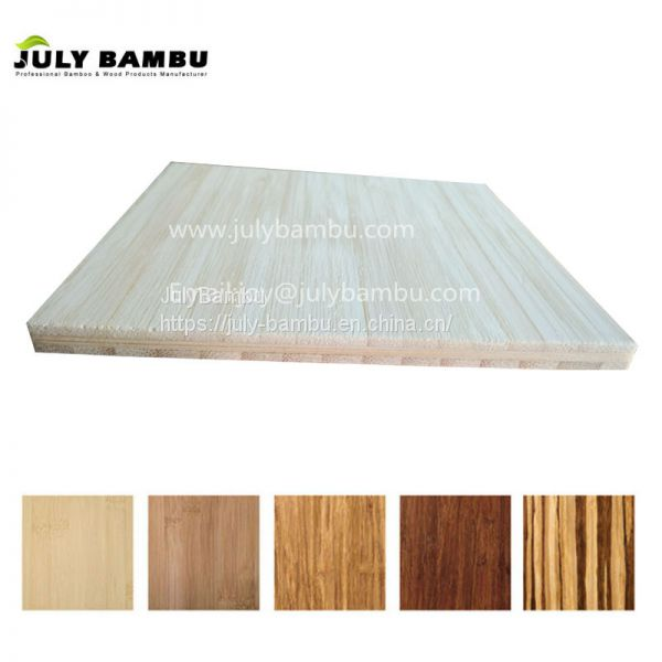 Premium Natural High Quality 3 Layers Bamboo Table Top Pressed Bamboo Ply  Sheet Image