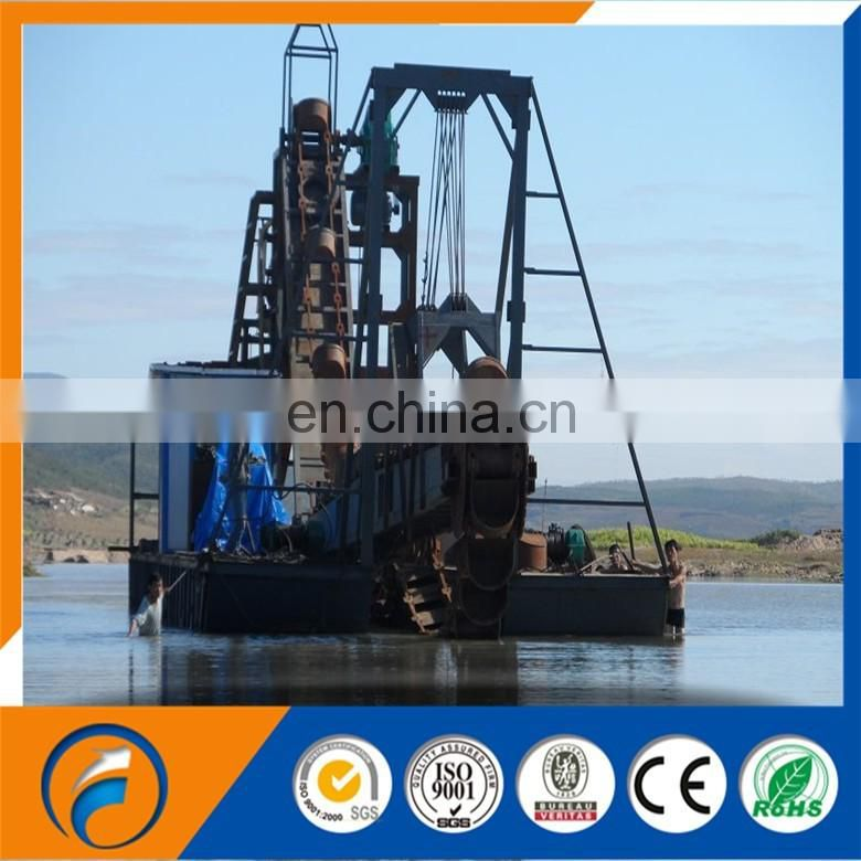 China Dongfang gold bucket dredger & gold mining equipment