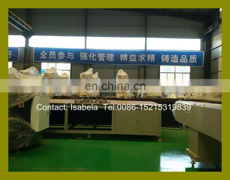 China precision Vinyl window door machine for Vinyl arch window door frame bending