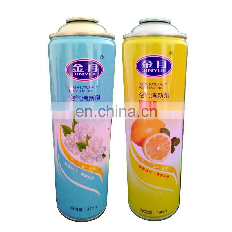 Empty Air Freshener Hermetic Sealed Spray Paint Cans Metal Aerosol Can Wholesale
