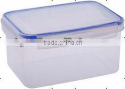 High quality oblong plastic food container for promotion
