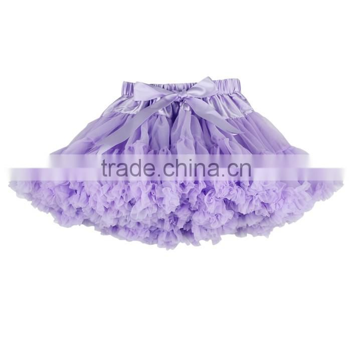 Lovely Fluffy Chiffon Pettiskirts Baby Girls Skirts Children Tutu Skirt Princess Dance Party Tulle Skirt