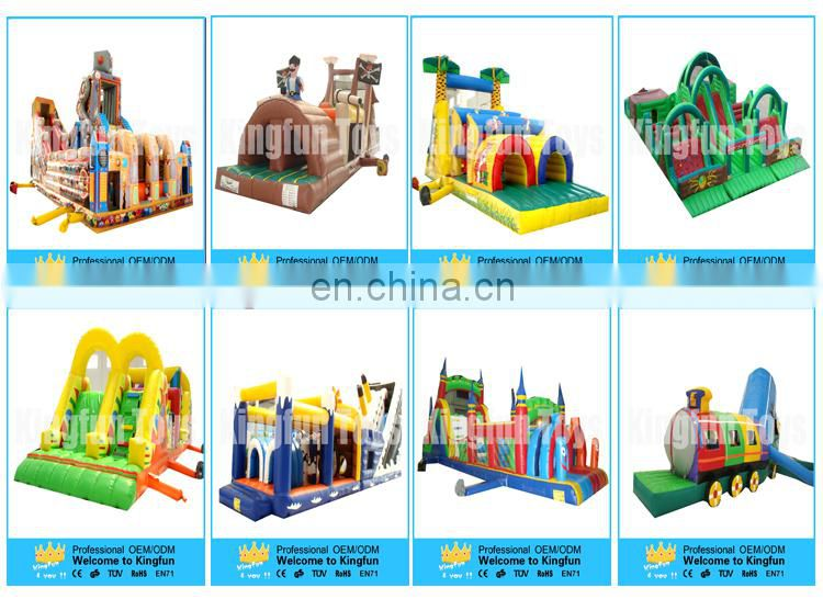 Most popular inflatable army obstacle/inflatable obstacle game