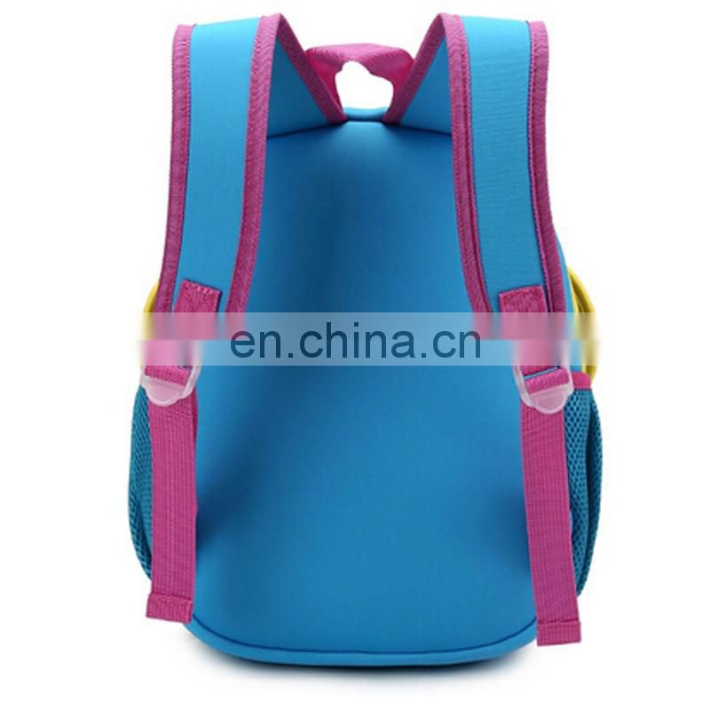 High quality butterfly child school bag