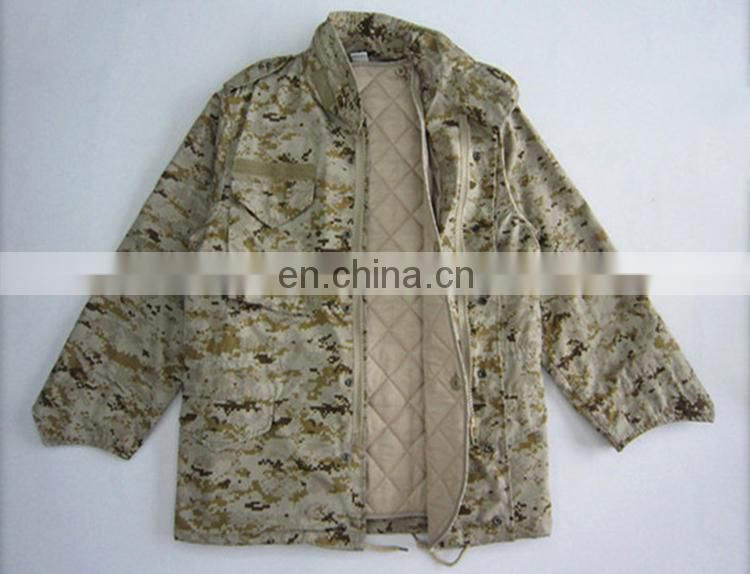 Hot selling products woodland camouflage military jacket