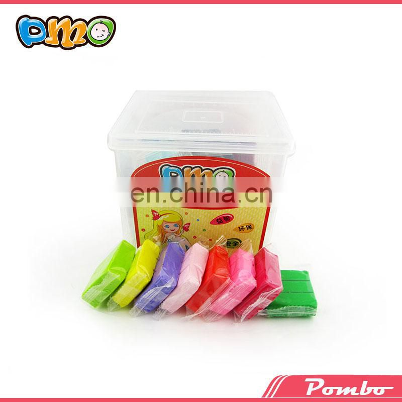 24 colors gift box oven bake polymer clay for children