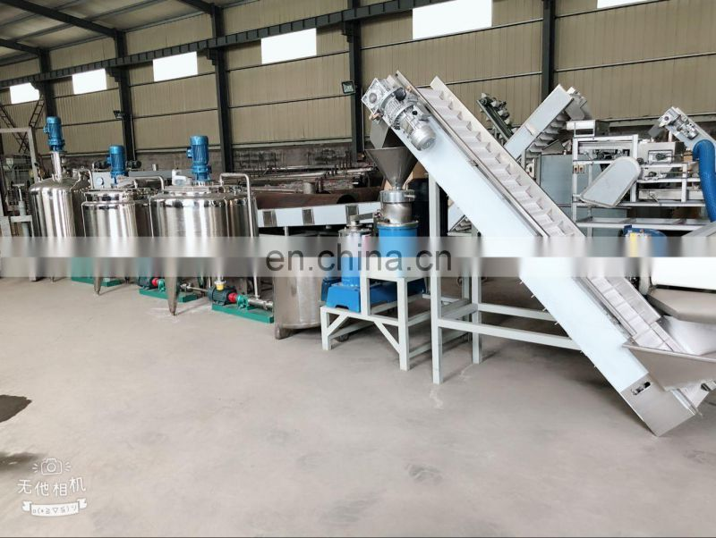 fully automatic sesame butter production line Manufacturer industrial sesame butter making machine