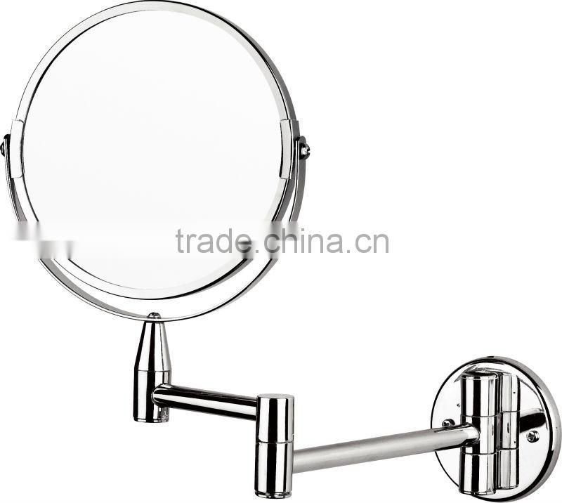 Chrome Free Standing Cosmetic Mirror