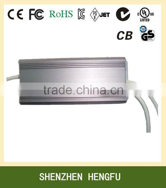 AC DC 12V 7.5A 90W Waterproof LED Driver with CE FCC ROHS UL approved