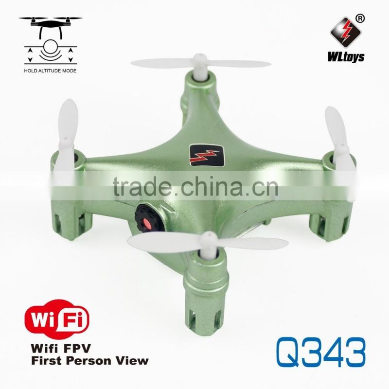 WLTOYS FPV RC Q343 Mini Set High WiFi drone 4CH 6-Axis Gyro RTF with HD Camera