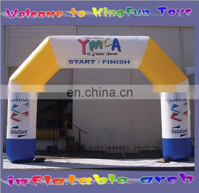 Customized inflatable arch door /business air arches