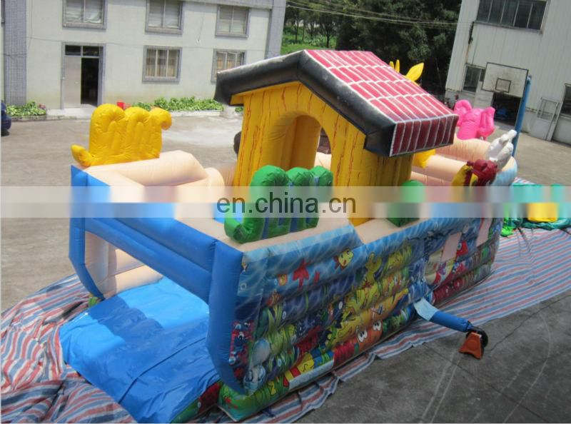 Inflatable sea water fun city amusement park