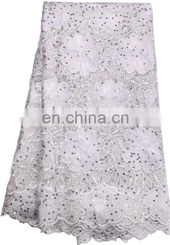 grey cotton chemical lace trim