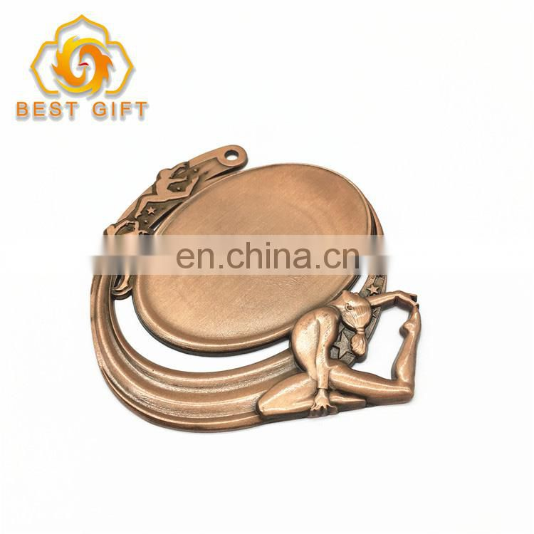 3D High Quality Custom Cheap Metal Blank Sports Award Medal