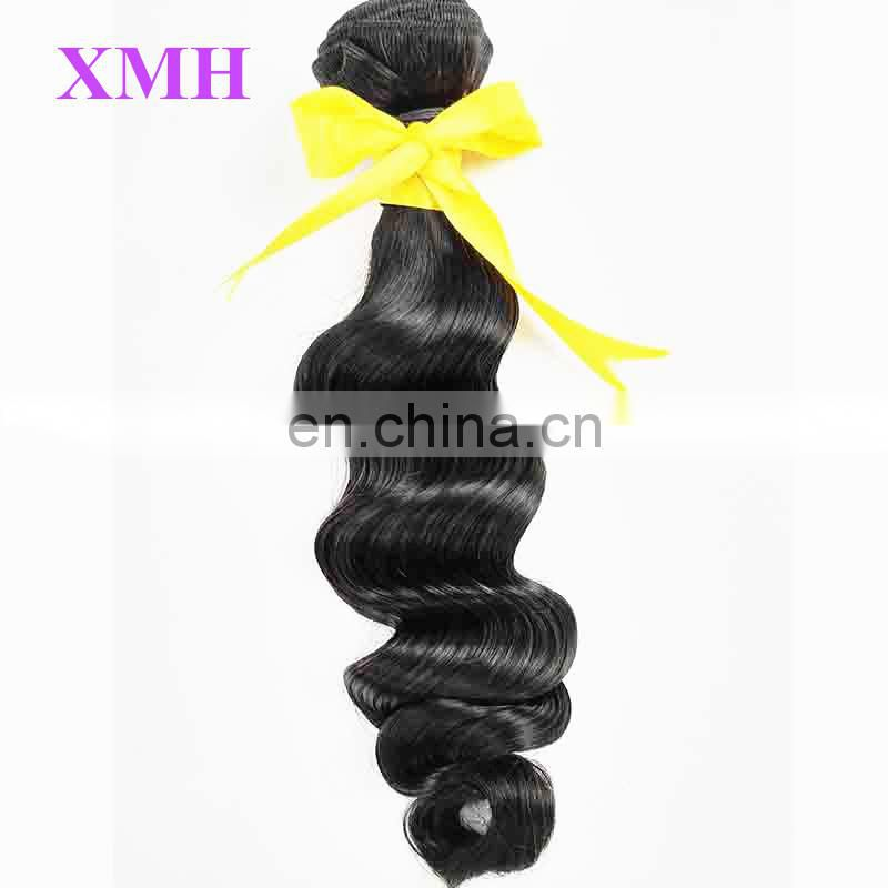 Wholesale No Shedding No Tangle Peruvian Loose Deep Wave Hairstyles for Black Women