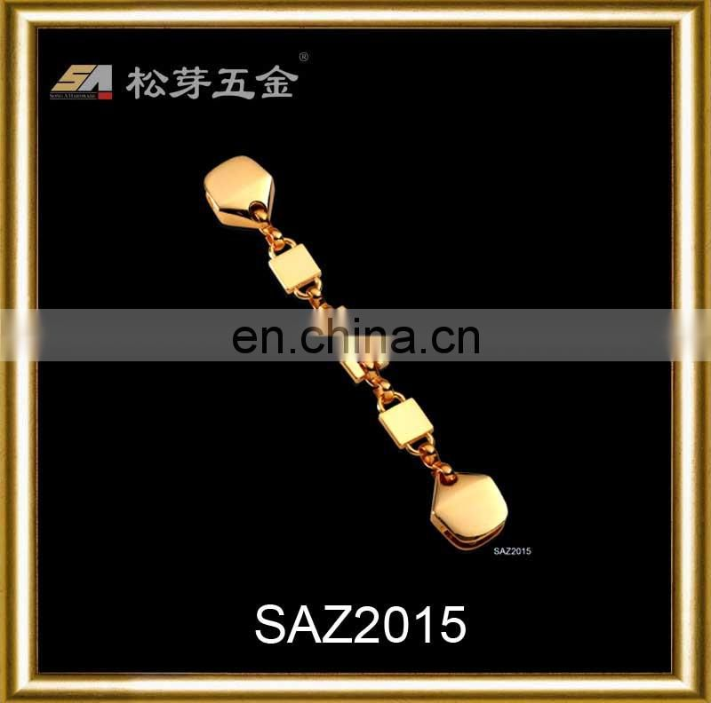 dongguan hardware accessory simple design high quality metal chain for handbag