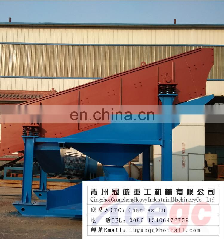 Auto discharging horizontal gold centrifugal concentrator in high recovery