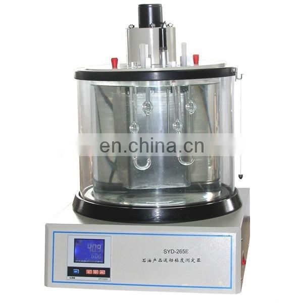 SYD-265E Oil Products Kinematic Viscosity Tester