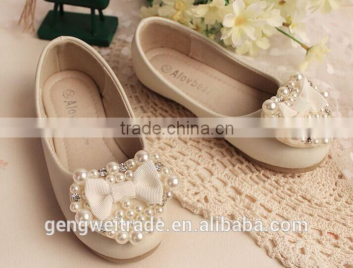 2015 New fashion girl shoes baby girl princess shoes kids party shoes