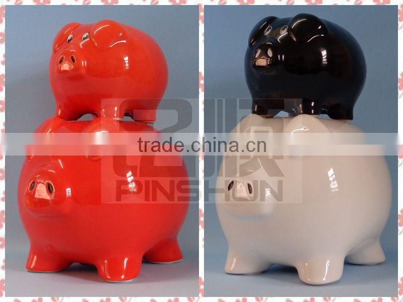 ceramic coin bank with bell,ceramic coin bank for kids in money boxes,ceramic coin bank for kids