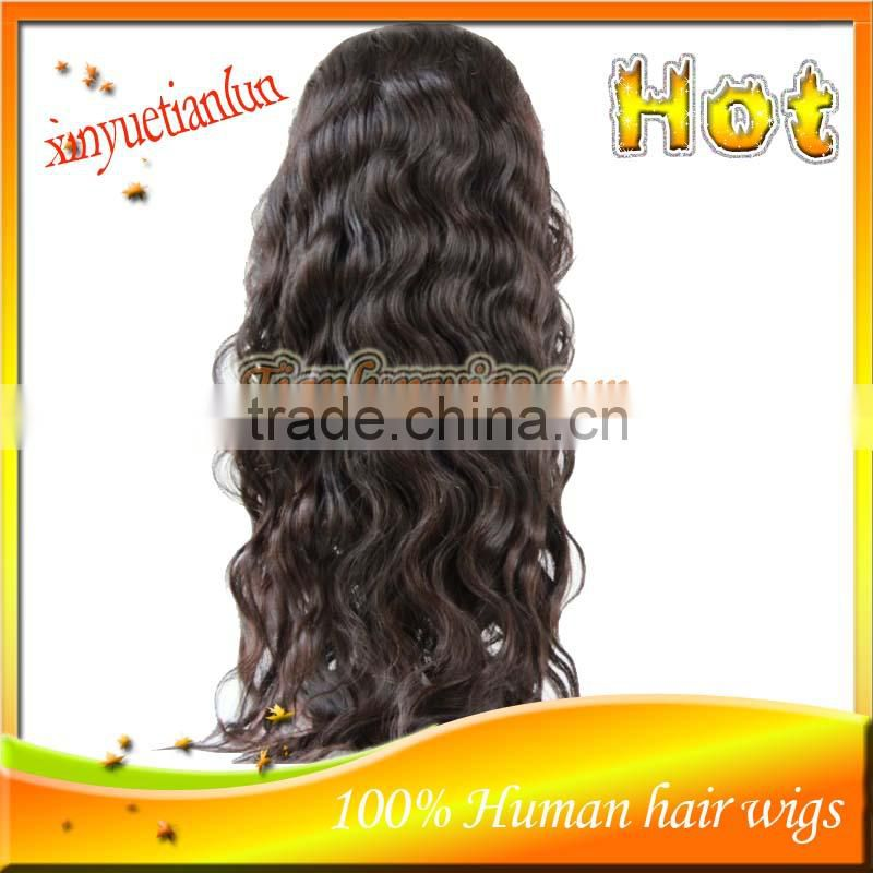 5A Body Wave Brazilian Full Lace Human Hair Wigs For Black Women Bleached Knots Glueless Full Lace Gigs For African American