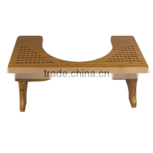 2016 chinese nice quality Bamboo toilet stools and ottomans