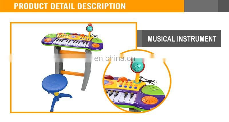 Hot Sale Musical Toy For Kids Toy Piano With Microphone Plastic Toy Piano