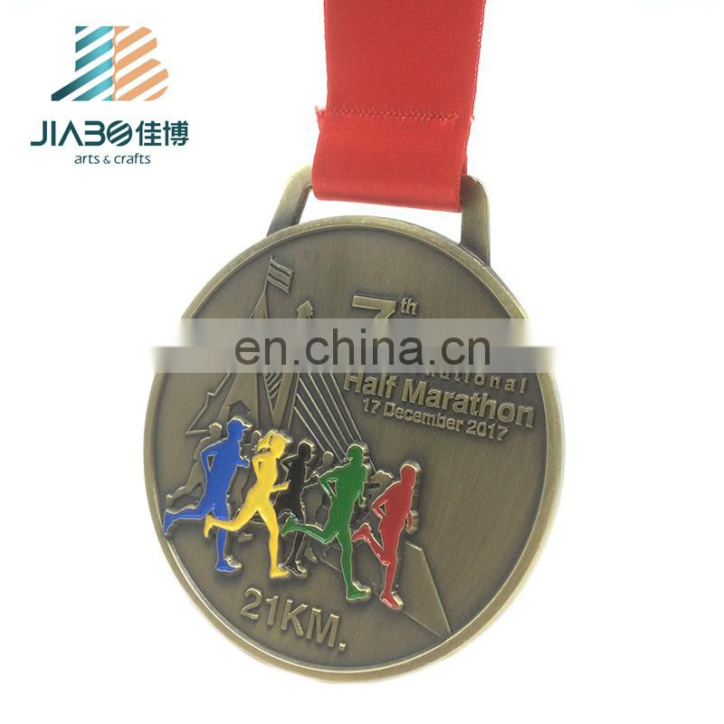 Bronze copper plated custom zinc alloy design your own medal