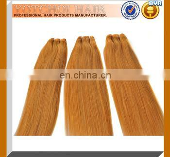 Wholesale Grade 7A Unprocessed No Split Ends Natural Blonde No Shedding Raw Cheap Virgin Russian Wavy Hair
