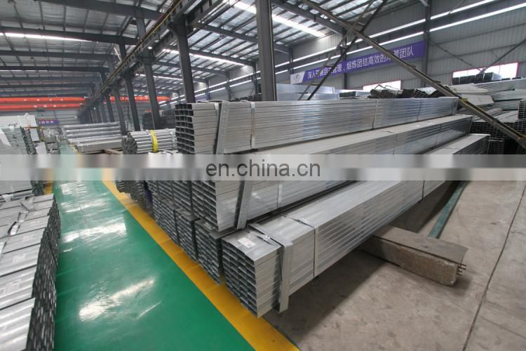 PRE GALVANISED STEEL PIPE HOLLOW SECTION SQUARE TUBE HOT SALE