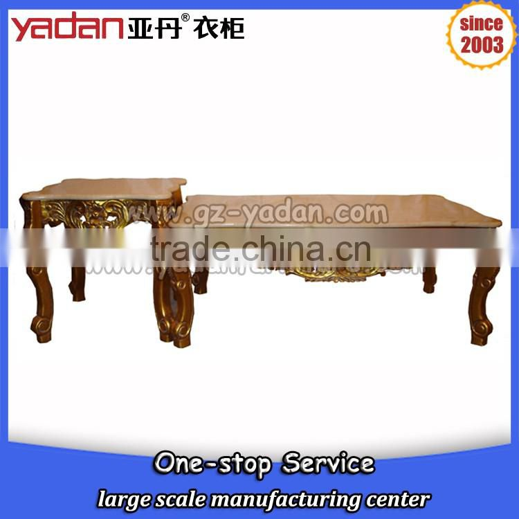 Tea Table Set Design Marble Coffee Table Marble Center Table Gold