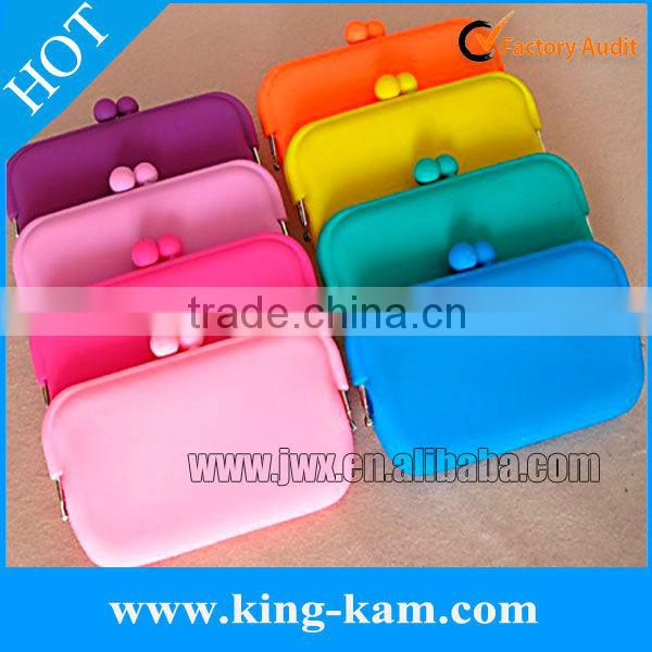 silicone key holder wallet