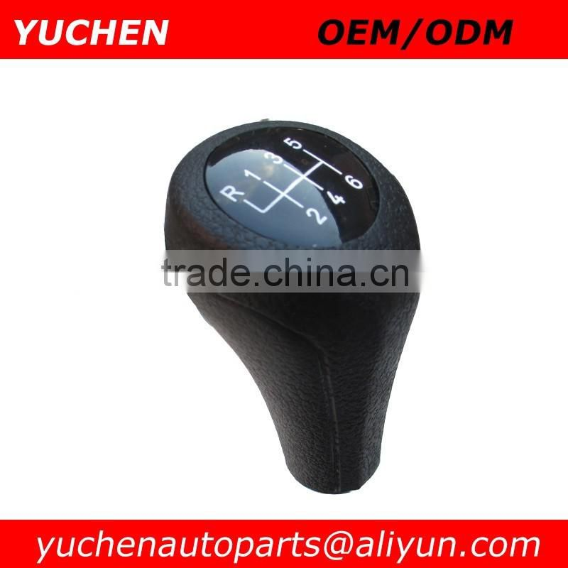 YUCHEN Car Shift Gear Knob Black For BMW 1 3 5 6 Series E30 E32 E34 E36 E38 E39 E46