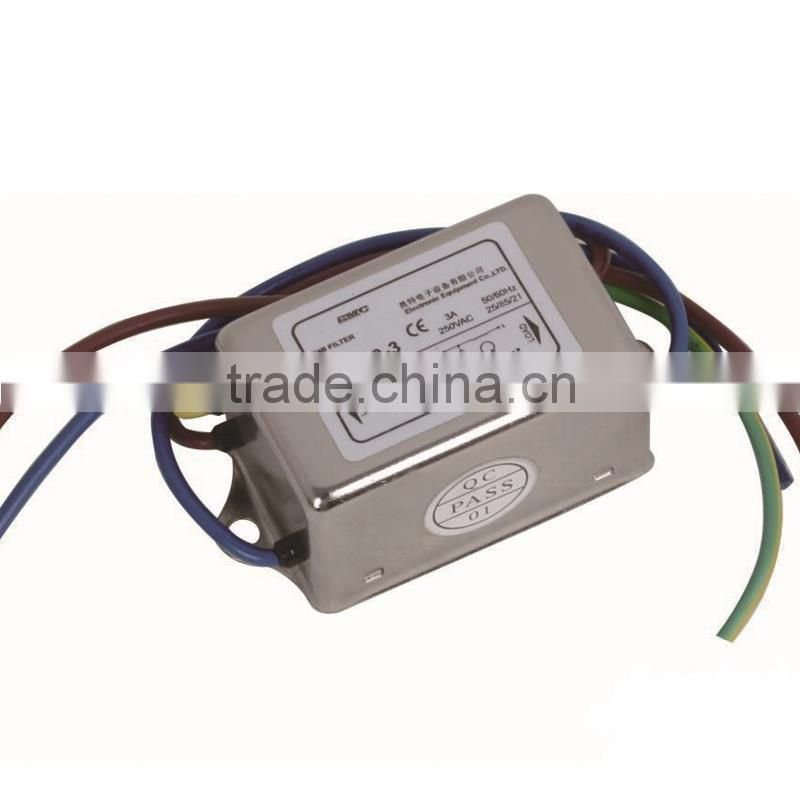 ODM service lcd magnetic powerline filter with low price