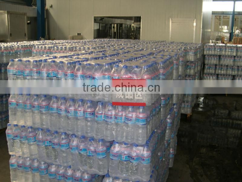 Three in one monoblock mineral water plant machinery in china