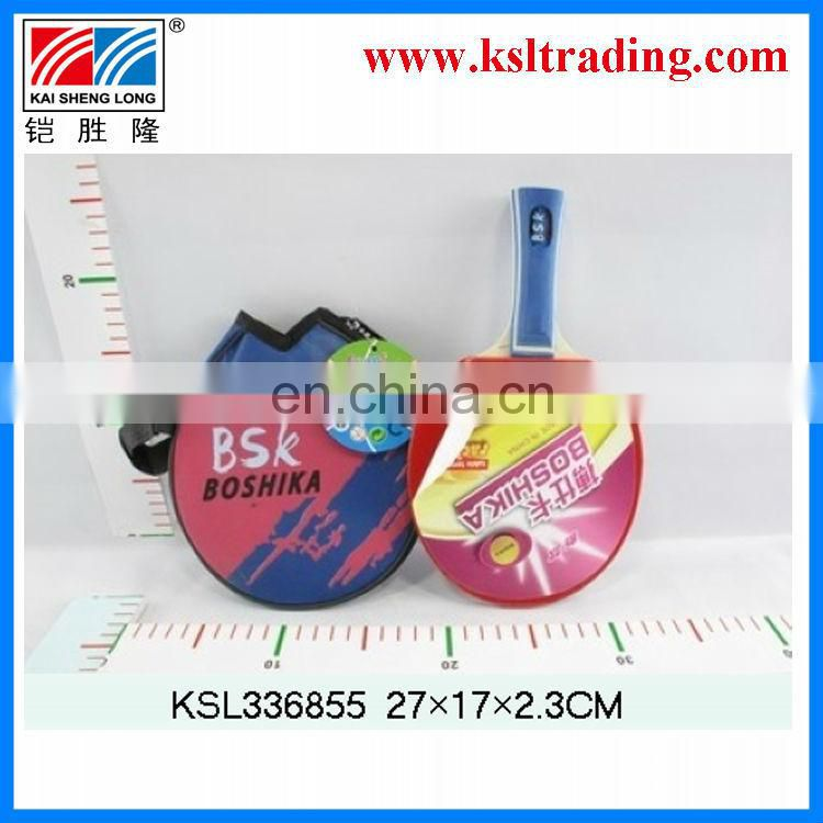 mini wooden toys table tennis racket
