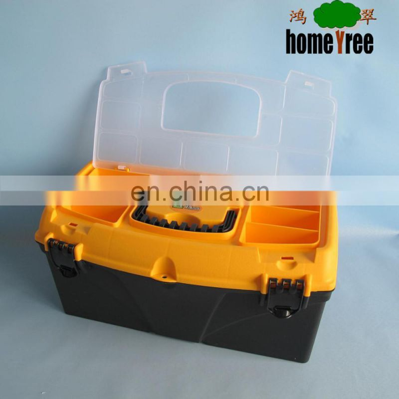 Newly Plastic box for tools with removable tray