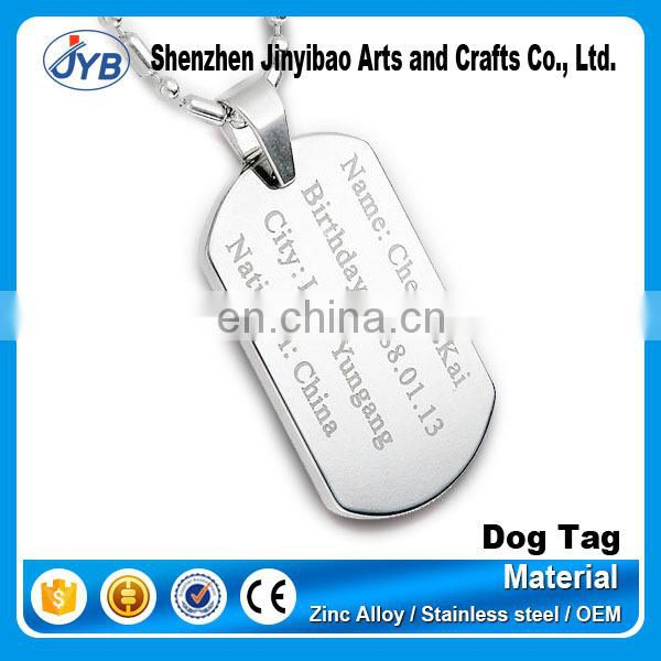 die stamping wholesale antique brass engraved dog tags for gifts