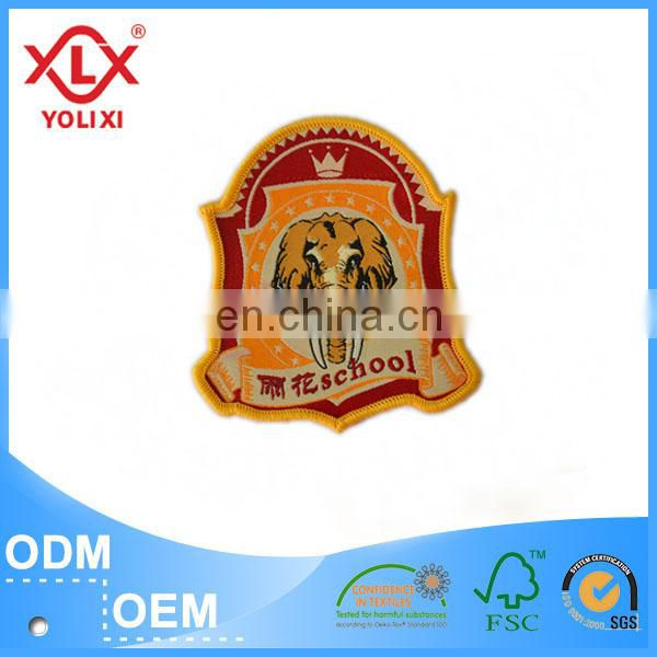 2015 cheap custom badge for garment