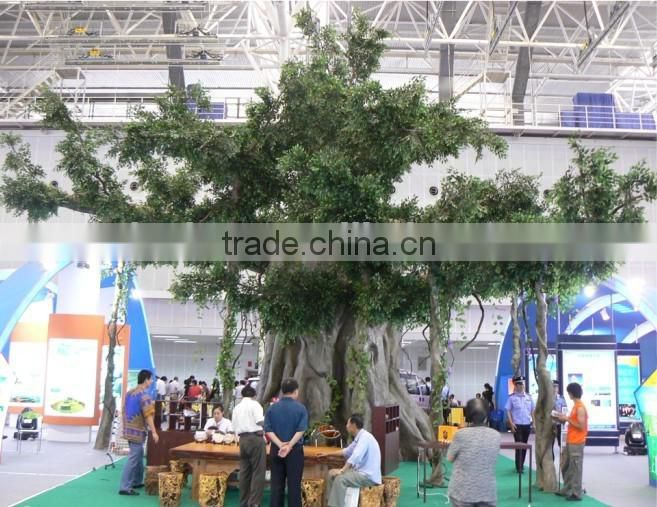 2015 hot sale artificial banyan tree decorative artificial tree