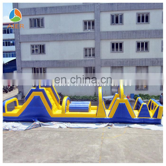 Giant Inflatable Obstacle Courses for sale, Adult obstacle course