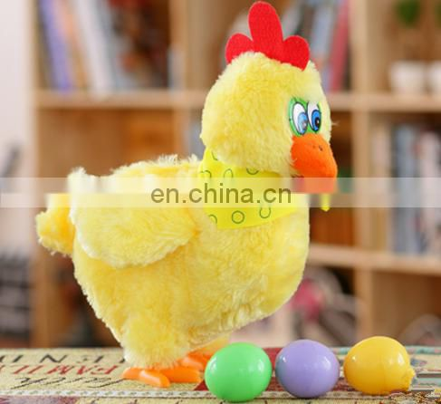 christmas Singing and dancing crazy music electronic chicken plush toys