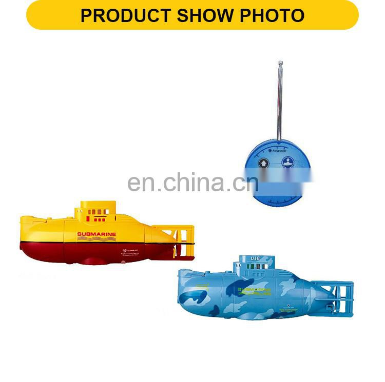 6 channels submarine rc High Speed Automatically fishing remote control boat with USB cable