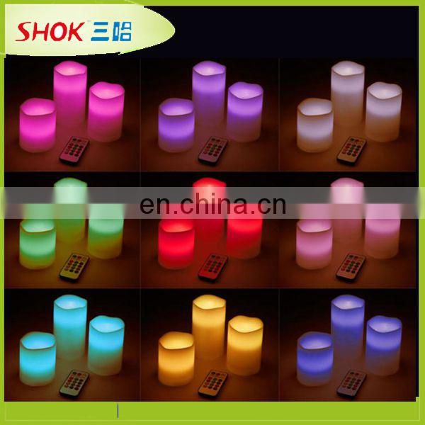flickering battery operated LED tea light candle