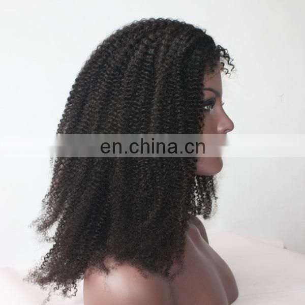 Qingdao facetory 100% human hair wig top quality brazilian virgin hair u part wig