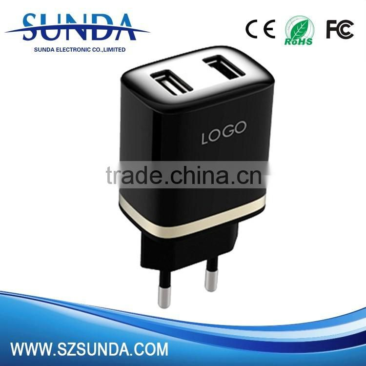 home charge 5v 1A /2A usb UK EU wall charger ac adapter standard plug available